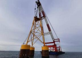 山东最大海上风电项目正式启动 装机规模301.6MW