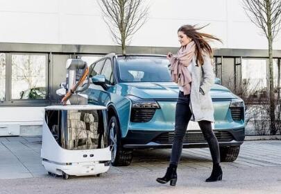 大众汽车造停车场机器人,就是个移动充电宝