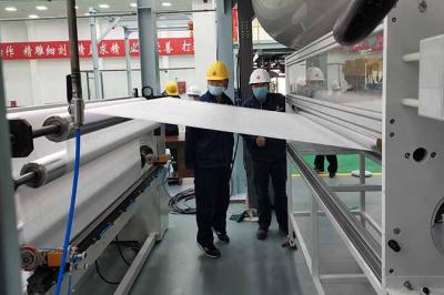 东北首条熔喷无纺布生产线开机 延伸炼化产品产业链