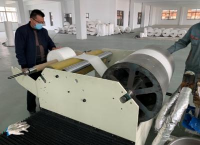 我国研制出新型熔喷布数字化自动生产线 每天可产出200公斤