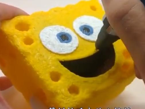 3D打印笔到底有多厉害?牛人手一挥,海绵宝宝突然出现