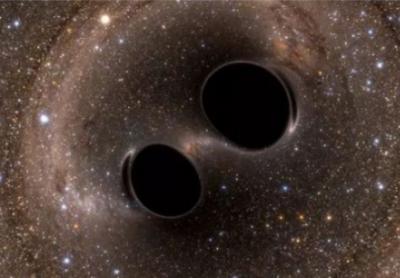NASA公布双黑洞共舞现象,引力波是如何实现这样的景象?