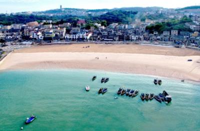 浙江温州技术加持整治海上牧场 启动绿水青山海岛模式