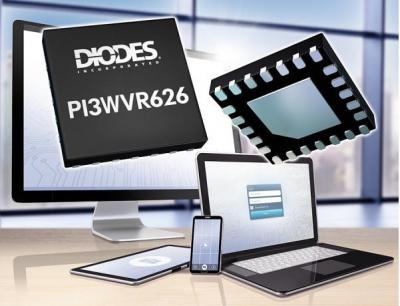 Diodes推出MIPI切换器PI3WVR626,优化多摄像头设备的设计