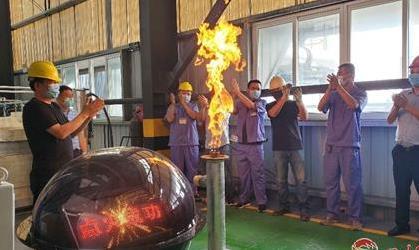 世界首套玄武岩连续纤维万吨级池窑生产线在罗江点火