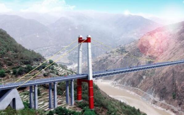 全球第一吊:世界首座纯铁路悬索桥金沙江上首战告捷