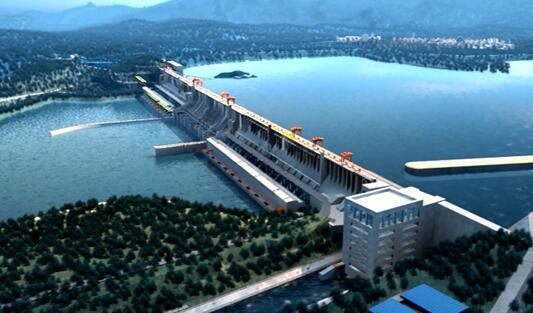 全球首座堰塞湖水电站成功投运 年发电达8亿度