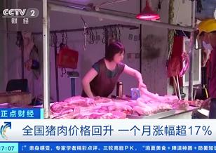 猪肉价格一个月每公斤涨近7元,未来猪价走势如何?