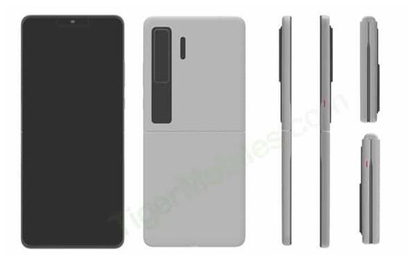 华为新一代折叠屏手机专利曝光 或将命名Mate V