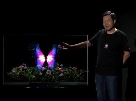 """小米發布全球首款量產透明電視!雷軍稱""""科幻電影中未來的顯示屏"""""""