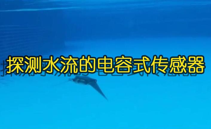 探測水流的電容式傳感器,可在水下自由的游動