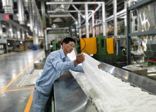 仪征化纤原生涤纶中空纤维业务领跑行业 保持两项全球第一