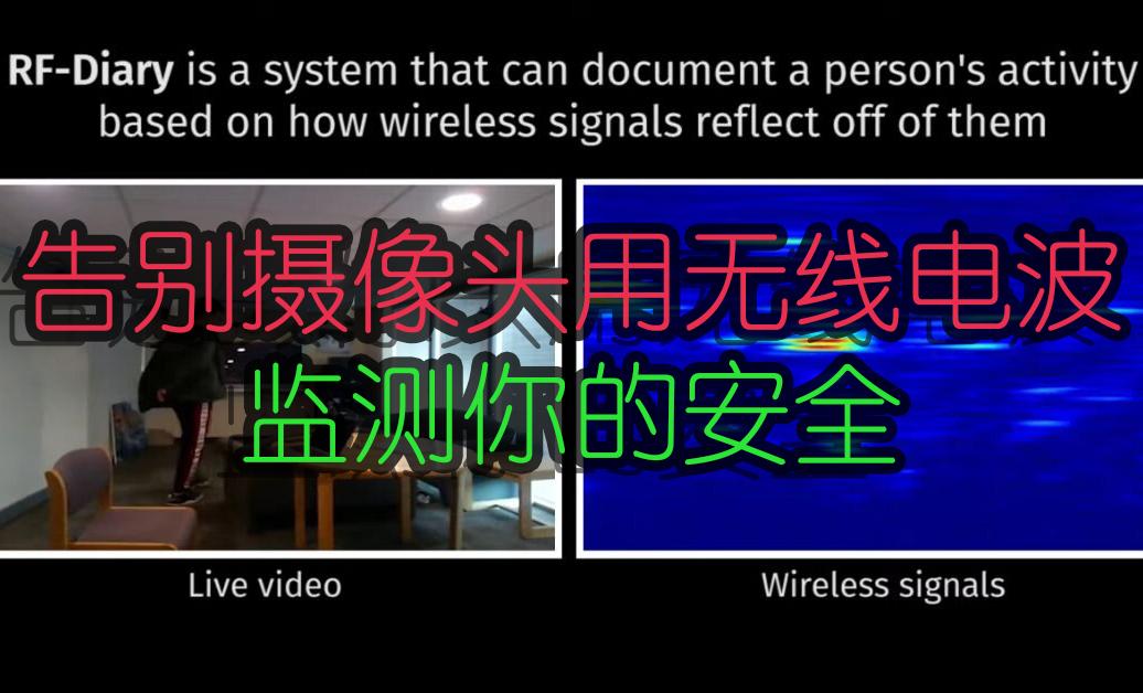 保护隐私告别摄像头,用无线电波来守护你的安全