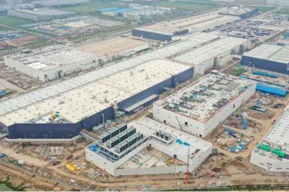 特斯拉上海二期工程主体结构完成 国产 Model Y明年一季度交付
