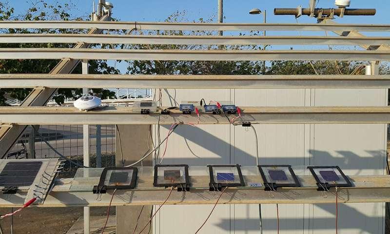 封装的钙钛矿、硅串联太阳能电池能优化其效率