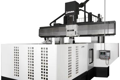 Okuma推出新的MCR-S双柱加工中心,一次完成粗加工到精加工冲模