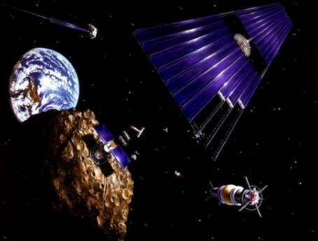 中国将发射太空采矿机器人 小行星未来或成地球的资源矿山