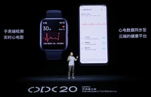 OPPO Watch ECG版智能手表发布!专业级守护心脏健康