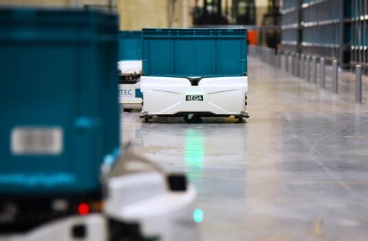 Exotec获得9000万美元C轮融资 开发仓储微型机器人技术