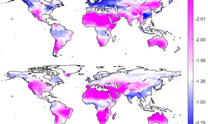 对于依赖太阳能的炎热地区来说,气候变化可能意味着晴天减少