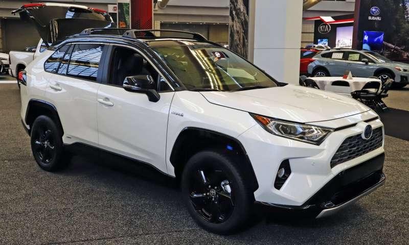 丰田RAV4混合动力车与普通的RAV4 SUV的性能分析
