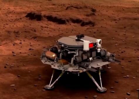 """""""天问一号""""即将脱离地球轨道 开始向火星轨道靠拢"""