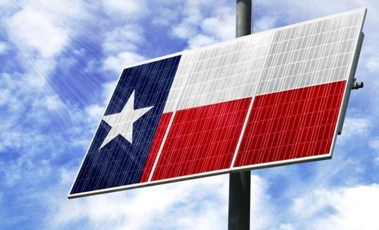 德州太阳能发电的价格增长甚至超过了其增长速度