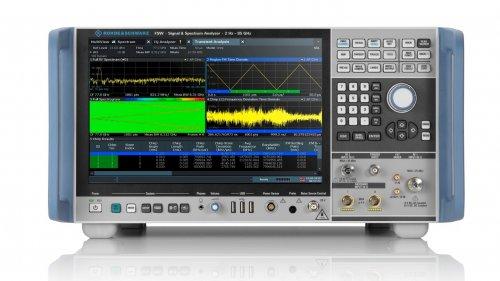 罗德与施瓦茨公司推出FSW信号与频谱分析仪选件,分析带宽升级到8.3 GHz