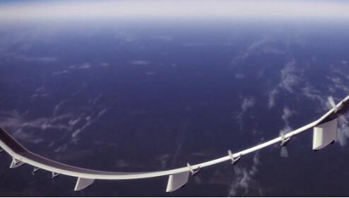 巨型太阳能无人机能够在全球范围内进行视频通话