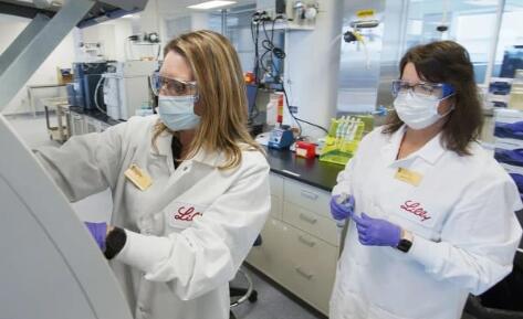 礼来新冠病毒抗体疗法试验被叫停,股价下跌2.8%