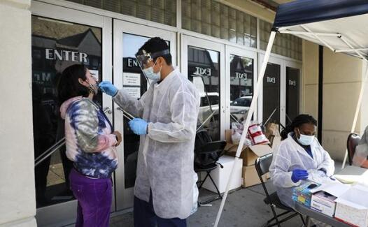 美国平均每41人就有1人感染新冠病毒,多州住院患者屡创新高
