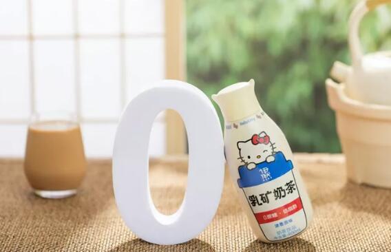 伊利伊然0蔗糖低脂肪乳矿奶茶上市,价格为69.9元/6瓶