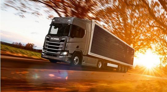 瑞典卡车制造商斯堪尼亚公司开发测试太阳能电池拖车