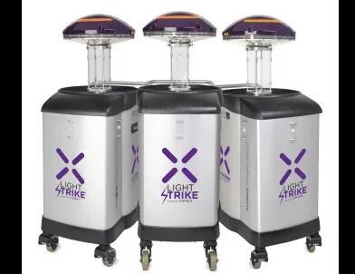 里士满健康中心增加紫外线杀毒机器人对抗新冠肺炎