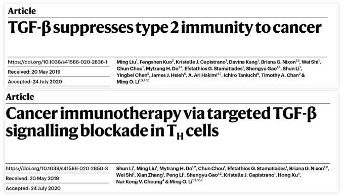 "Ming O. Li团队发明""癌症环境免疫疗法""   很可能是一类新型的癌症疗法"