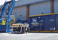 萨博海眼豹水下机器人助力水下管道的精确检查