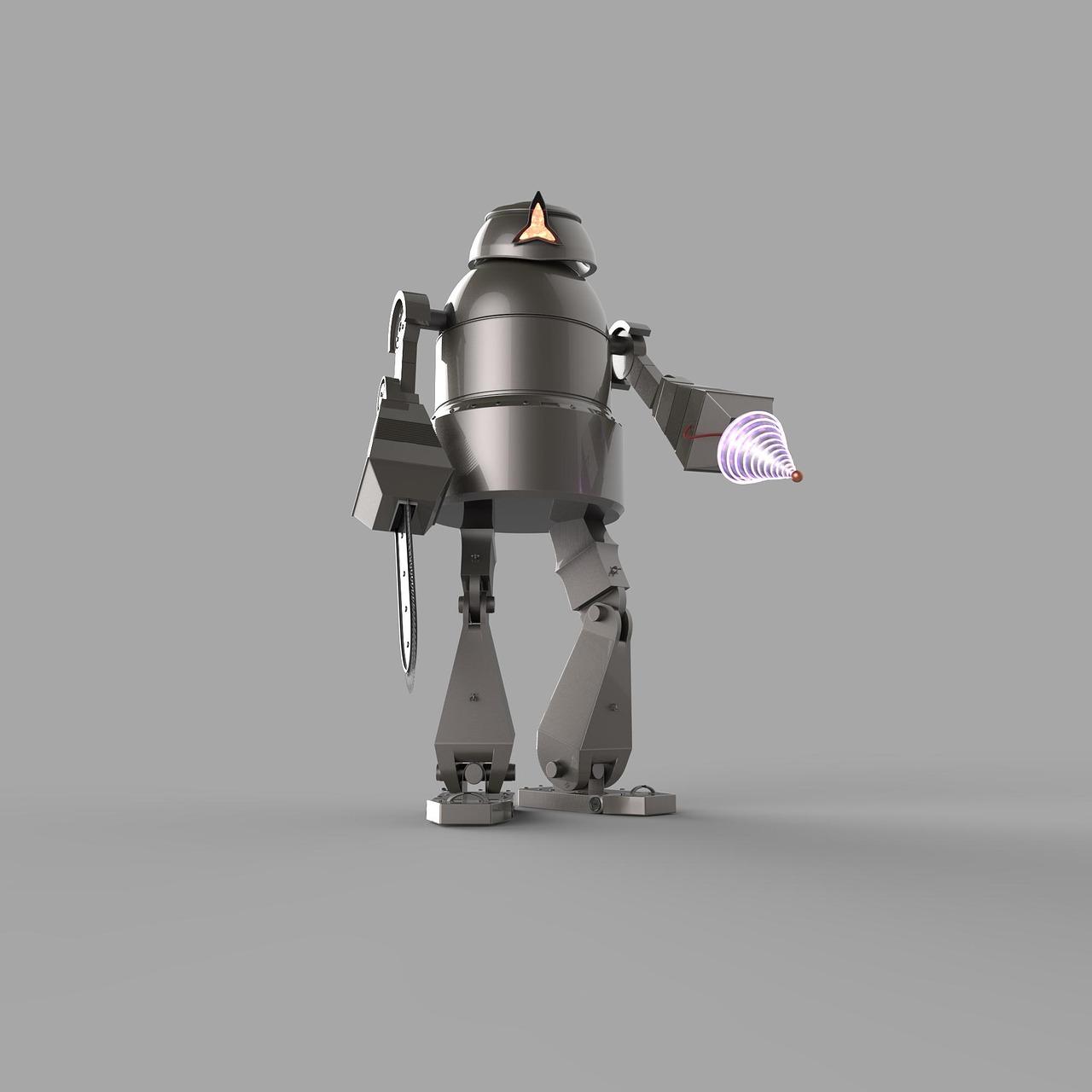 人类与机器人携手构造建筑