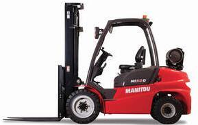 Manitou推出配備61 hp GCT發動機的新型雙燃料叉車