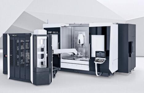 新型DMG Mori移动式立柱机可进行高精度5轴加工