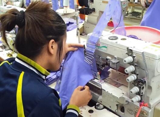 越南纺织品出口额达400亿美元 54%的原料来自中国