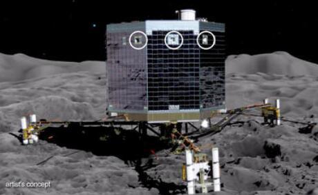 """""""菲莱""""着陆器第二着陆点确认 帮助科学家了解彗星冰层的强度"""