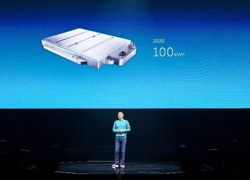 蔚來100kWh電池包正式上線 逆襲歸來市值已超百度