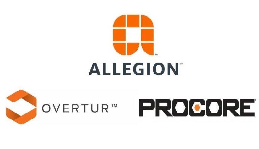 Allegion宣布Overtur门禁软件与Procore施工管理软件集成