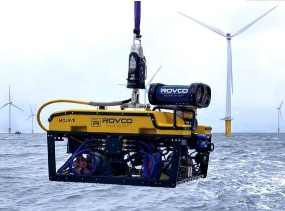 海上风电运营商利用水下航行器对风机进行维护