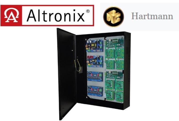 Altronix推出专门为支持Hartmann Controls而设计的门禁和电源集成解决方案