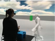 对于曲线行径轨迹的虚拟行人,怎么让他避障呢?