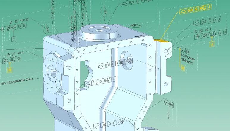 3D InterOp扩展了PMI支持的功能,以启用自动测量计划