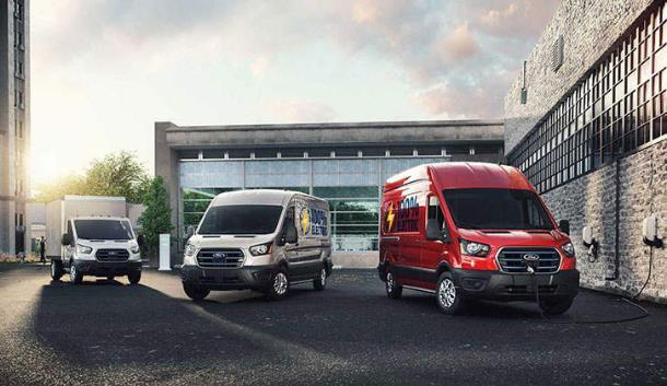 福特发布首款纯电商用车E-Transit,续航里程约为203公里