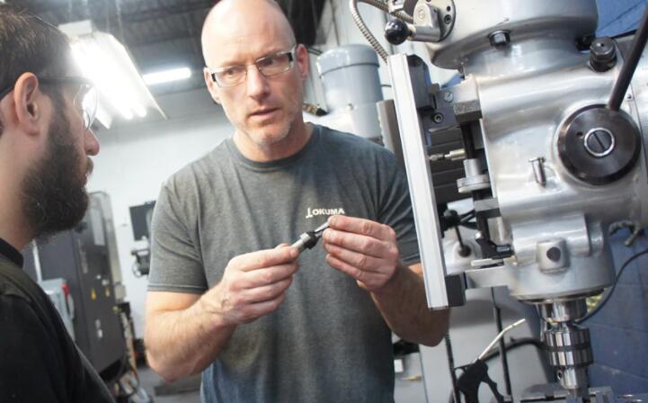 加工商的工具室成为专属的CNC机加工车间