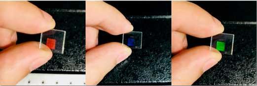 世界首创!研究人员采用纳米级建筑技术创造防伪材料